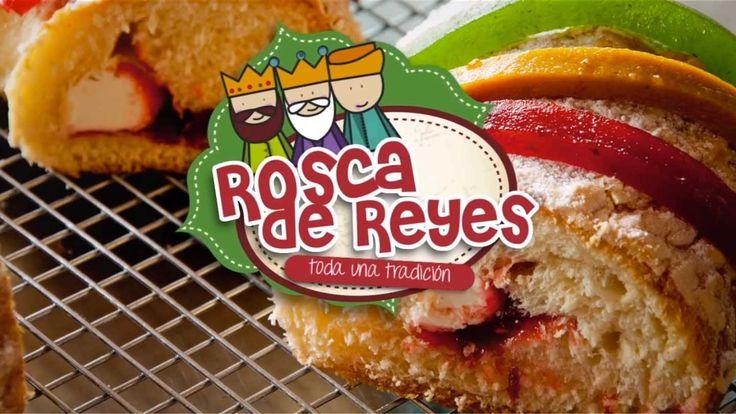 Rosca de Reyes Rellena (Receta fácil, rica y sencilla)