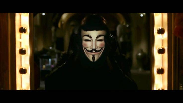 V For Vendetta Trailer (HD) Bu maskenin altında etten fazlası var. Bu maskenin altında bir fikir var ve fikirler kurşun geçirmez!!!!