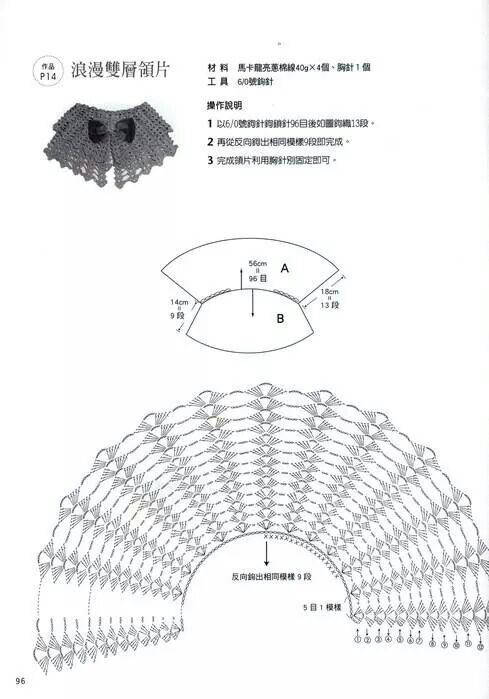 Crochet collar pattern.................. http://se.pinterest.com/pin/369928556865063832/