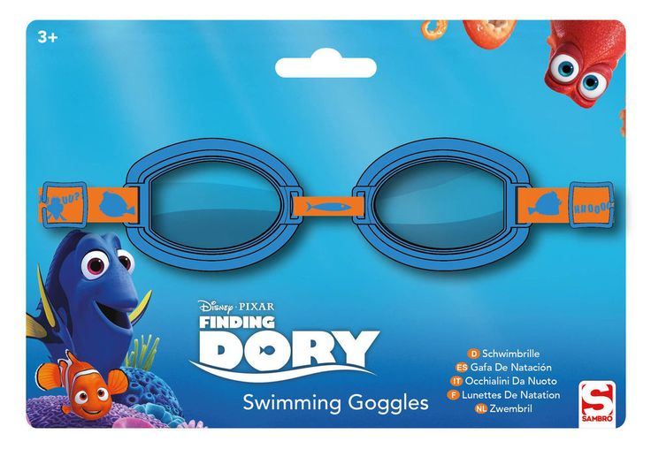 Swimming Goggles Disney Finding Dory Junior Girls Official Licensed Gift #Disney