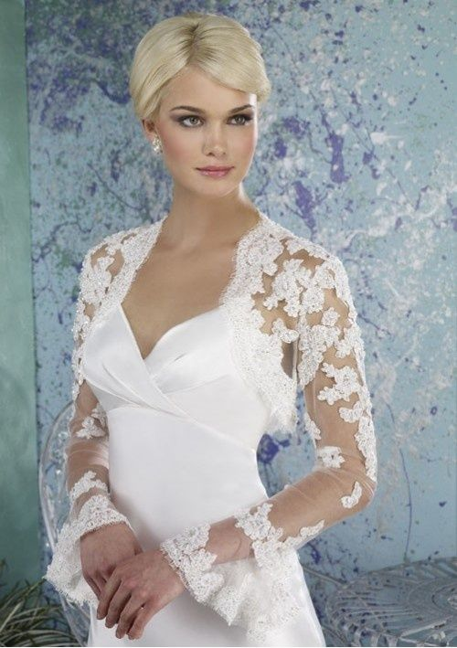 Cheap Long Sleeve Wedding Jacket Buy Quality Directly From China Lace Bolero Suppliers 2014 Summer Fashion Appliques