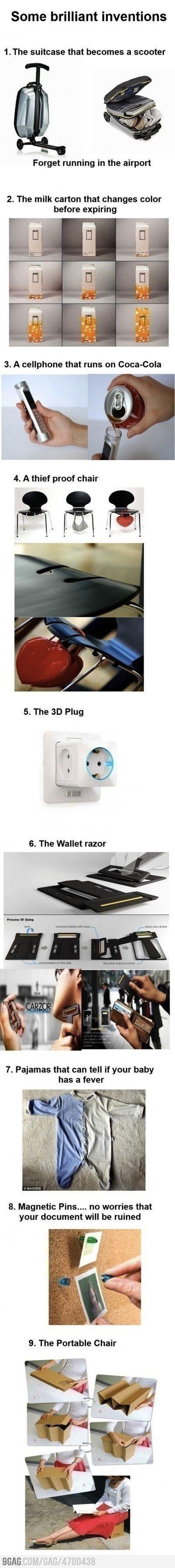 Some brilliant inventions