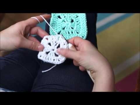 Jak uháčkovat babiččin čtverec - granny square
