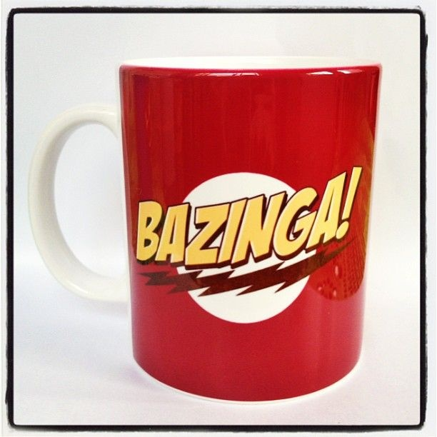 Caneca Personalizada BAZINGA - StarGeek Store