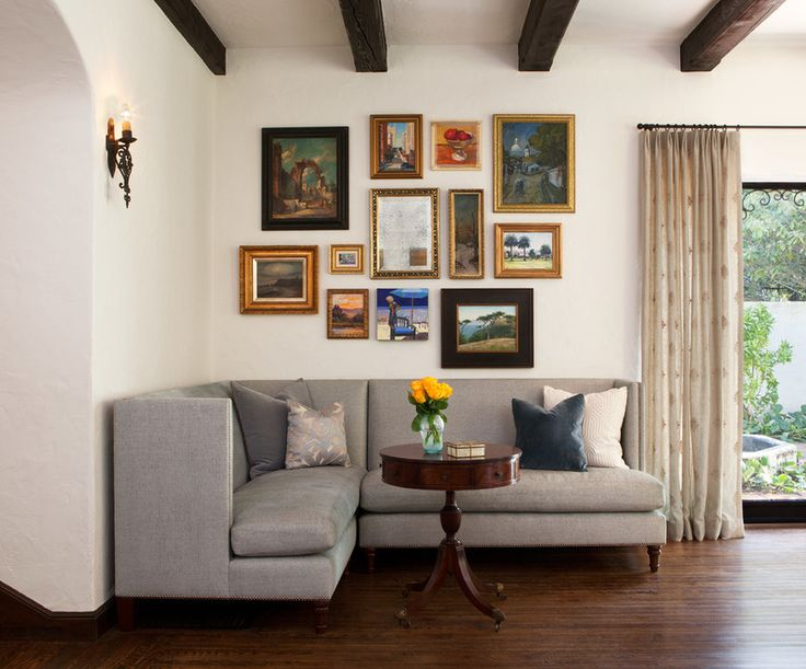 Traditional Living Room By Lisa Rubenstein Real Rooms Design Houzz Com