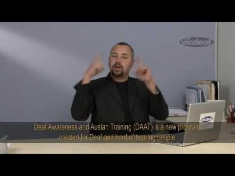 Deaf Awareness and Auslan Training