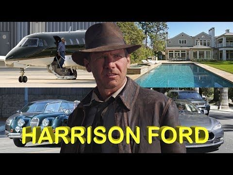 HARRISON FORD ● Biography ● House ● Cars ● Jet ● Family ● Net worth ● Pets ● wmv - YouTube