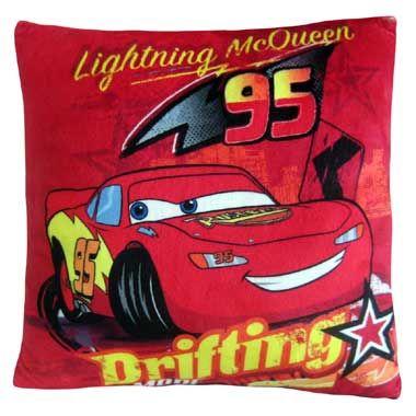 Disney Cars Bliksem McQueen kussen  Jij zult heerlijk dromen over alle spannende avonturen die Bliksem McQueen beleeft op dit heerlijk zachte kussen.  EUR 14.99  Meer informatie