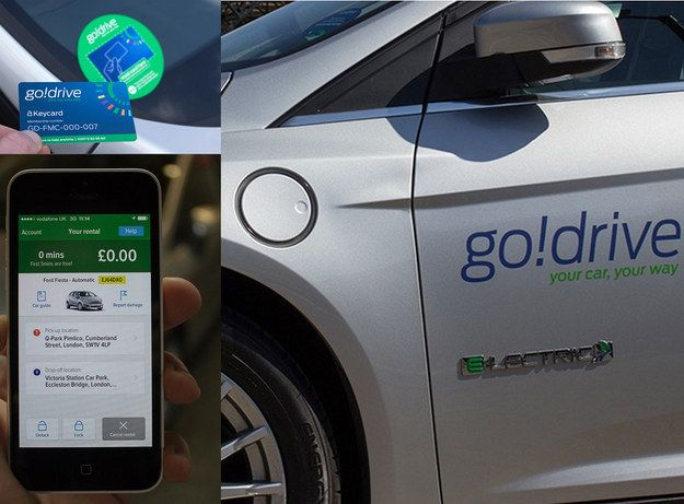 Ford's GoDrive Car-Sharing Service Debuts In London - BuzzFeed News