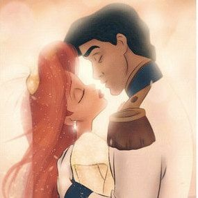 the little mermaid- always reminds me of my daughter who's a beautiful redhead.