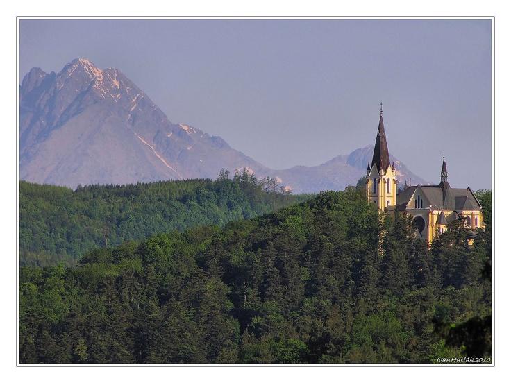 Church near Levoča, Slovakia