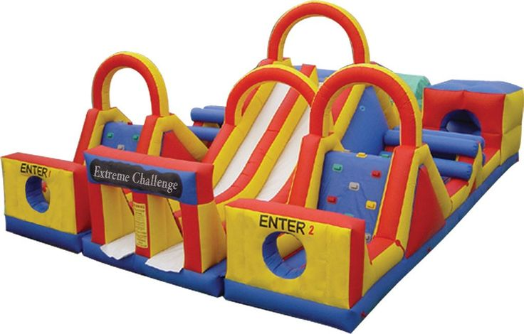 bounce house /obstacle - Google Search