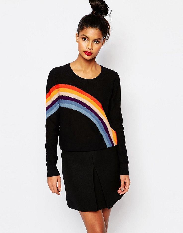 Sonia+by+Sonia+Rykiel+Rainbow+Intarsia+Knit