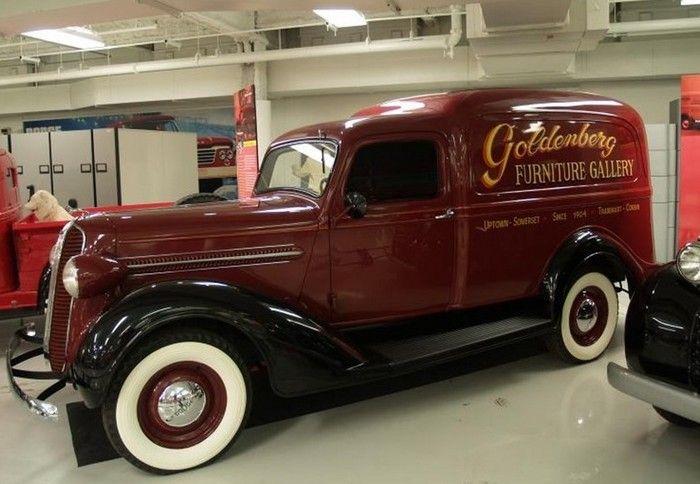 Rare Cars-1934 Dodge Sedan Delivery Panel Truck.