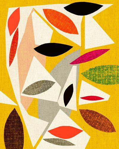 Jardin d'Automne - Inaluxe Prints - Easyart.com