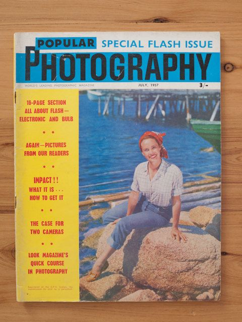 Popular Photography magazine July 1957 Australian by freshdarling