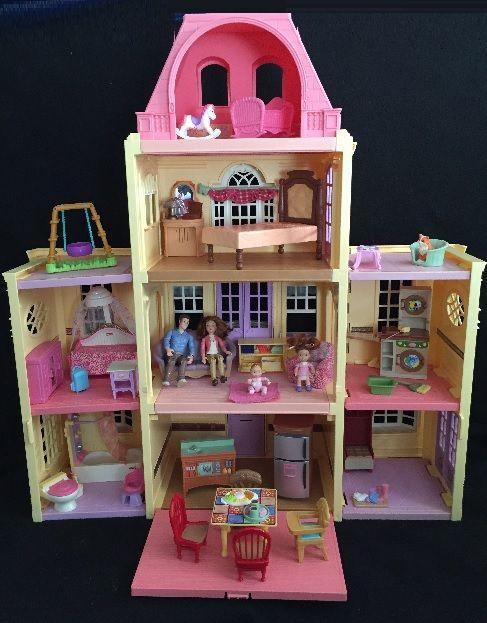 Fisher Price Loving Family Dollhouse Lot 1 Kids Heaven In Lisle