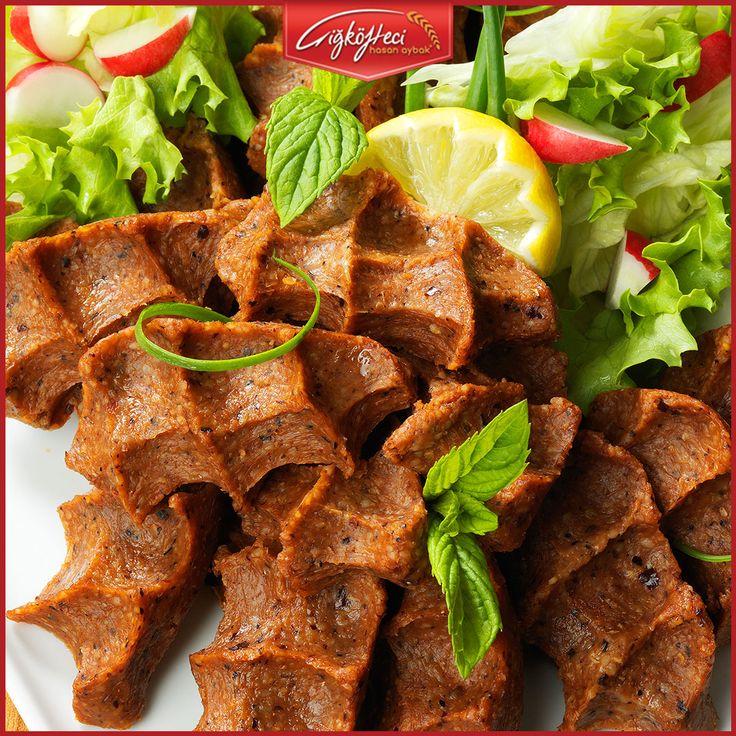 Çiğköfteyi ustasından yiyin! #çiğköftecihasanaybak #çiğköfte #lezzet