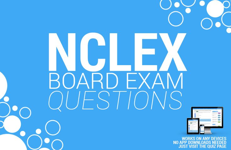 Here's our growing collection of NCLEX Practice Questions you can use for your upcoming licensure exams for FREE! There are over 2100 items in this set alone with a wide range of topics to choose from.