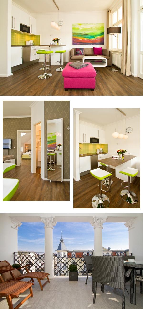 """Schick, schicker, am schicksten...unser neues Appartement """"Aquamarin"""" in der Villa Anna in Bansin. Weitere Informationen und Buchungen möglich unter: http://www.usedomtravel.de/Unterkuenfte/Catalog/_17429_Seebad_Heringsdorf_OT_Bansin/Villa_Anna_Bansin/Wohnung_Aquamarin.html #holiday #usedom #bansin #apartment #interiordesign #design #modernliving #modern #ostsee #ferienwohnung"""