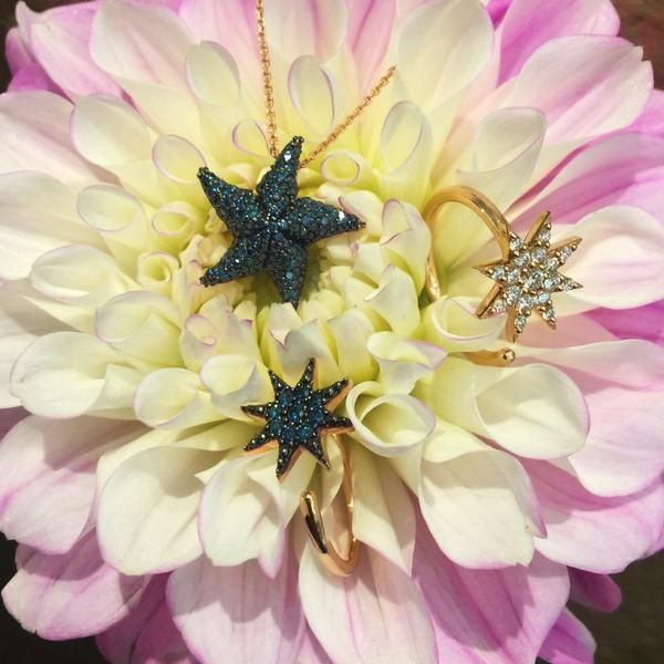Stars amongst the flowers... We adore these #BeeGoddessJewel accessories.