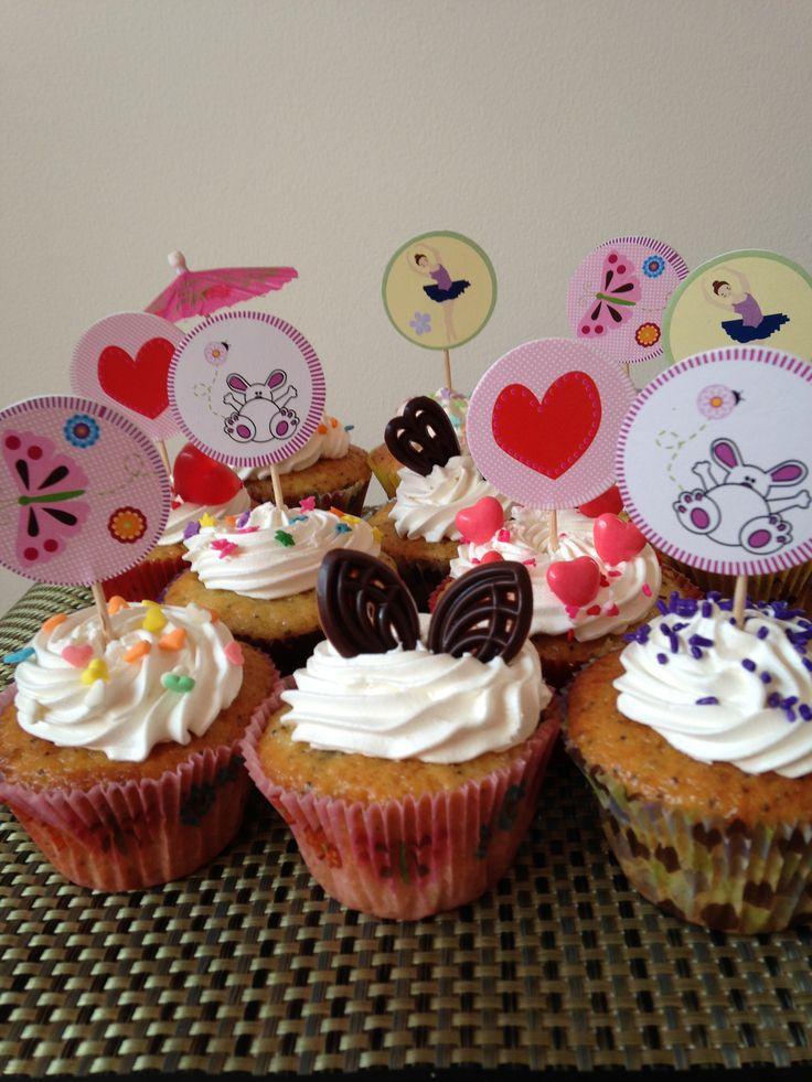Cupcakes de diferentes sabores