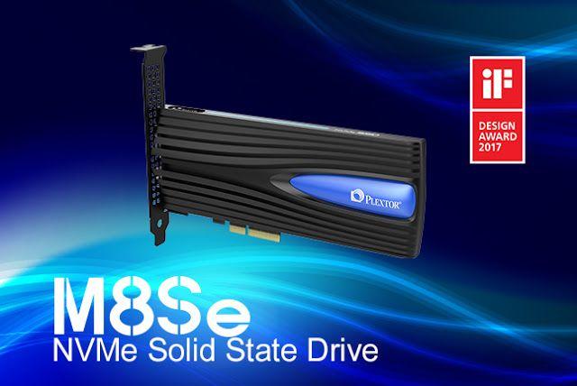 M8Se Plextor - спецификации SSD  Новые конструкции с достойной производительностью. Plextor объявила о выпуске своего предложения SSD СМИ M8Se. Компания подготовила четыре версии емкостного диска, традиционно также различную производительность. Все модели M.2 2280 с использованием PCIe 3.0 x4 и предлагают полное соответствие с протоколом NVMe.  http://www.texnus.ru/2017/05/m8se-plextor-ssd.html