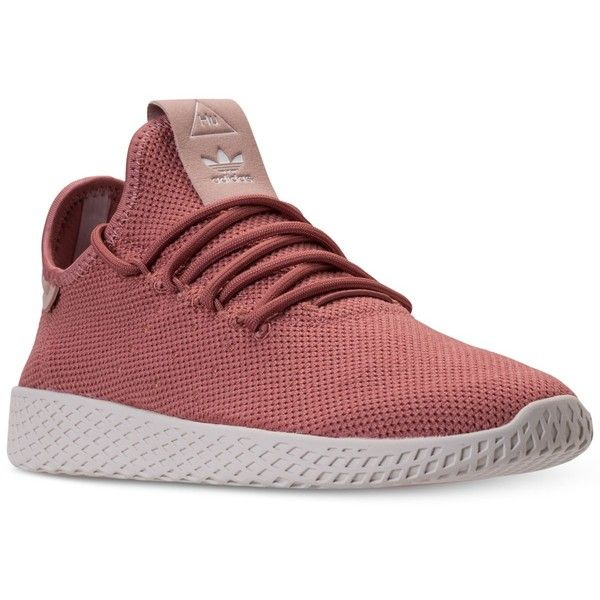 adidas Women's Originals Pharrell Williams Tennis Hu Casual Sneakers... ($100) ❤ liked on Polyvore featuring shoes, sneakers, tenny shoes, adidas shoes, tennis trainer, adidas trainers and tennis sneakers