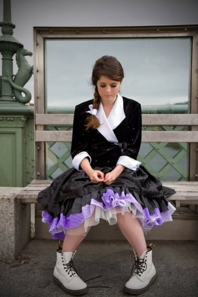 Check out Lucy's Lounge on Facebook. One-off designer clothes from Dublin.