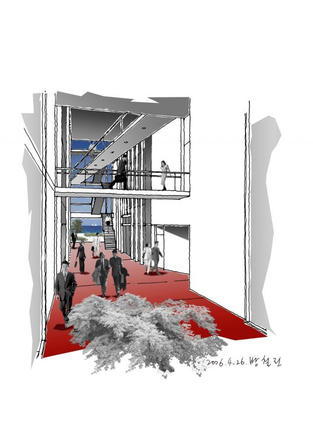 스파이널 허브/방철린 Spinal hub by Bang, Chulrin /Architect Group CAAN