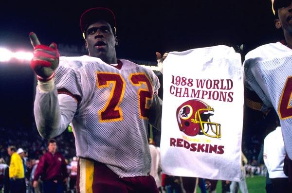 Dexter Manley says it all. - Super Bowl XXII
