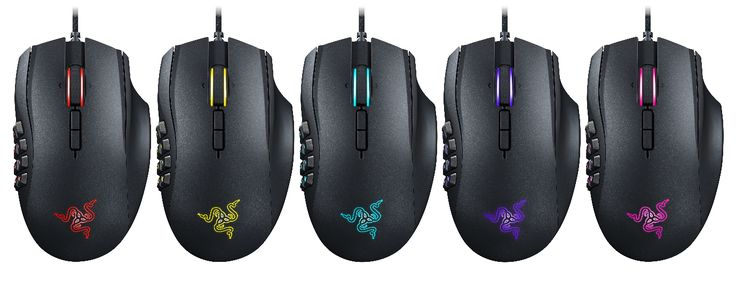 Razer Upgrades World's Best MMO Gaming Mouse with State-of-the-art Sensor and Chroma RGB Lighting