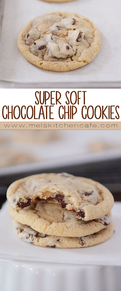 These Super Soft Chocolate Chip Cookies are amazingly soft, quick and easy, and insanely yummy.