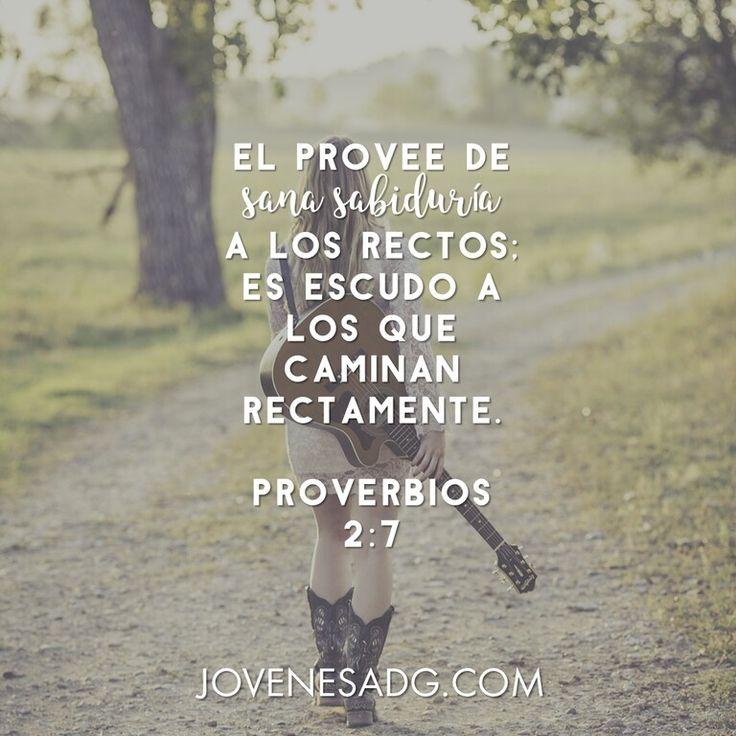 CAMINANDO EN SABIDURÍA/ Semana 6 - Lunes  Lectura Proverbios  2:7-15 Devocional Proverbios  2:7  #JovenesADG #ComunidadADG #CaminandoenSabiduria #Sabiduría #Proverbios #EstudiosBiblicosparaJovenes #AmaaDiosGrandemente