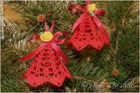 Risultati immagini per uncinetto decorazioni natalizie istruzioni