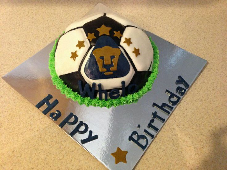 Puma Soccer Happy Birthday Whelo My Cakes Pinterest
