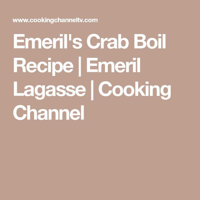 Emeril's Crab Boil Recipe | Emeril Lagasse | Cooking Channel