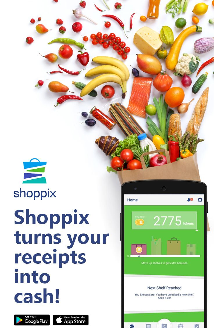 Shoppix turns your receipts into rewards  Snap your receipts and