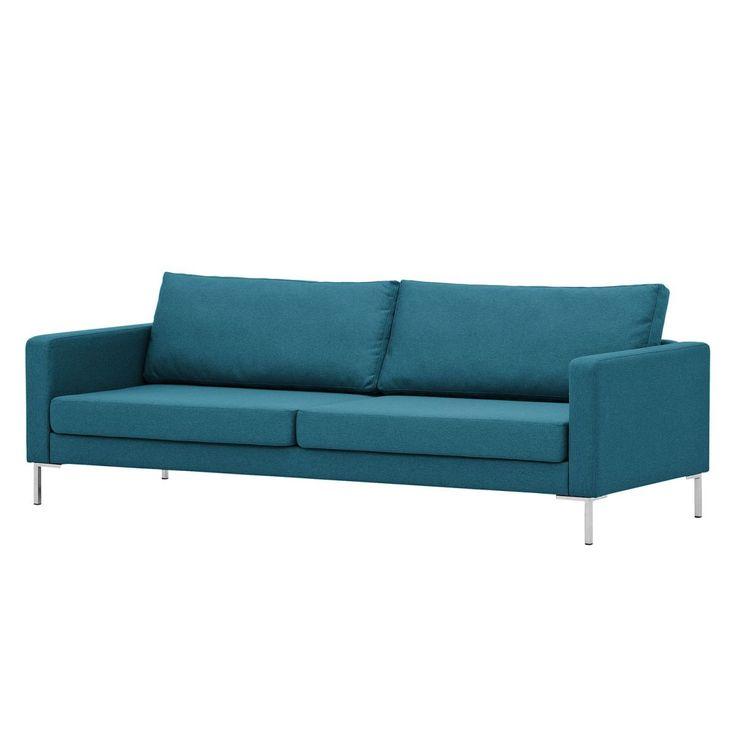 Sofa Portobello (3 Sitzer) Webstoff   Eckiger Fuß   Stoff Ramira Türkis  Jetzt Bestellen Unter: Https://moebel.ladendirekt.de/wohnzimmer/sofas/2 Und 3 Sitzer  ...