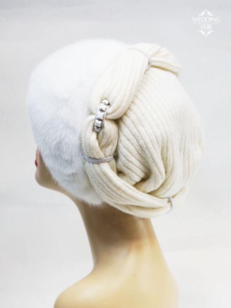 Норковые шапки женские купить