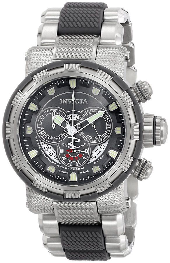 17 best ideas about invicta reserve watches invicta mens reserve capsule swiss made chronograph two tone bracelet watch new
