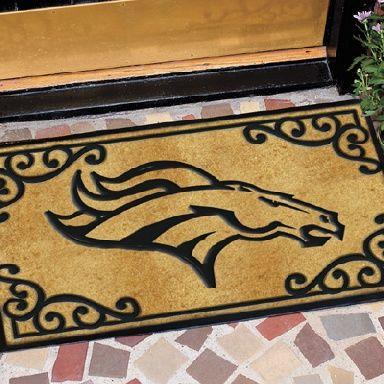 Denver Broncos Exterior Door Mat #denverbroncos #broncos #gifts