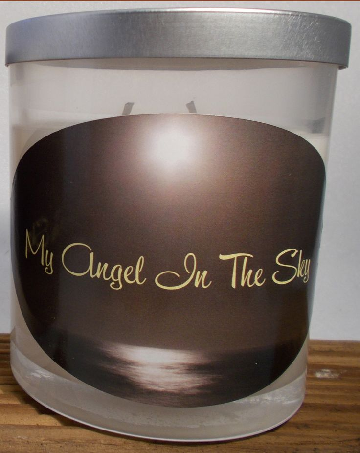My Angel In the Sky a very special candle for those we have lost and not forgotten and we can always have them close with us at any occasion. Hand poured with love our 100% Natural Eco Soy Candles bring peace and our loved ones closer to us.