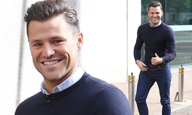 The end of a holiday is always tough - especially with the added prospect of returning to work. But, for TOWIE's Mark Wright, that's clearly not an issue.