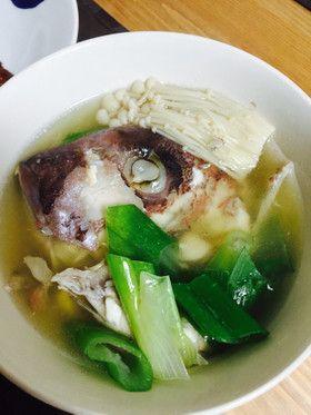 鯛のあら汁 by dolichance [クックパッド] 簡単おいしいみんなのレシピ ...