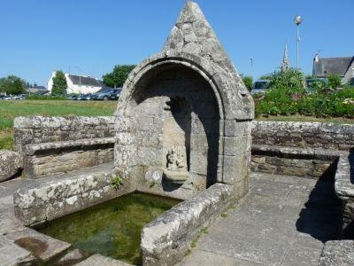 Fontaine de la Chapelle St Philibert Moëlan