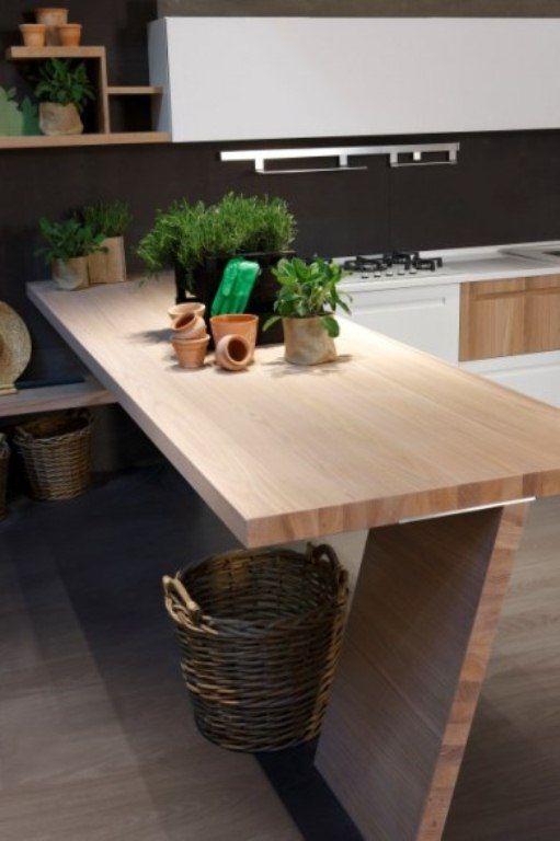 Elm Wood Kitchen By Stosa Kitchens