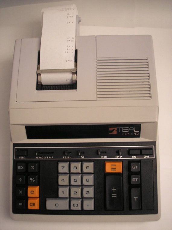 19 best printing machine images on pinterest screenprinting dish 1970s teal 320 pd calc adding machine works w by daddydan fandeluxe Image collections