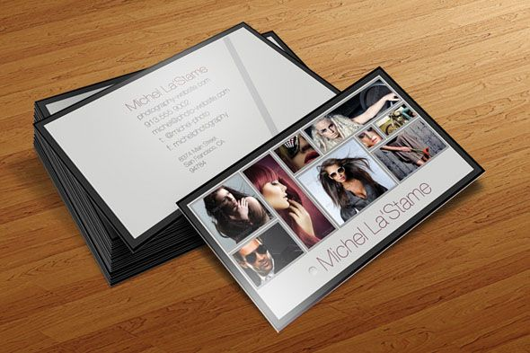 15 Best Free and Premium Photography Business Card Templates » Design You Trust – Design Blog and Community