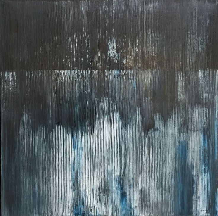 """Reduced"" acryl, Leinwand 100X100      bernhard kaeser 2016 Acryl auf Leinwand ,abstrakte, Kunst, malerei, Leinwand, painting, abstract,"